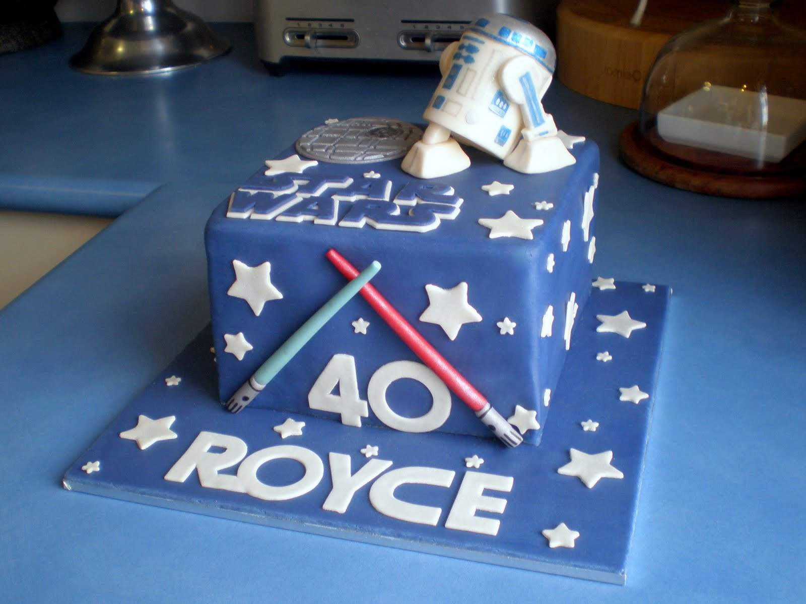 Images Of A Star Wars Cake : Star Wars Cakes   Decoration Ideas Little Birthday Cakes