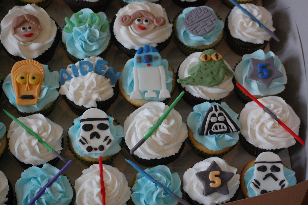 Star Wars Cup Cakes