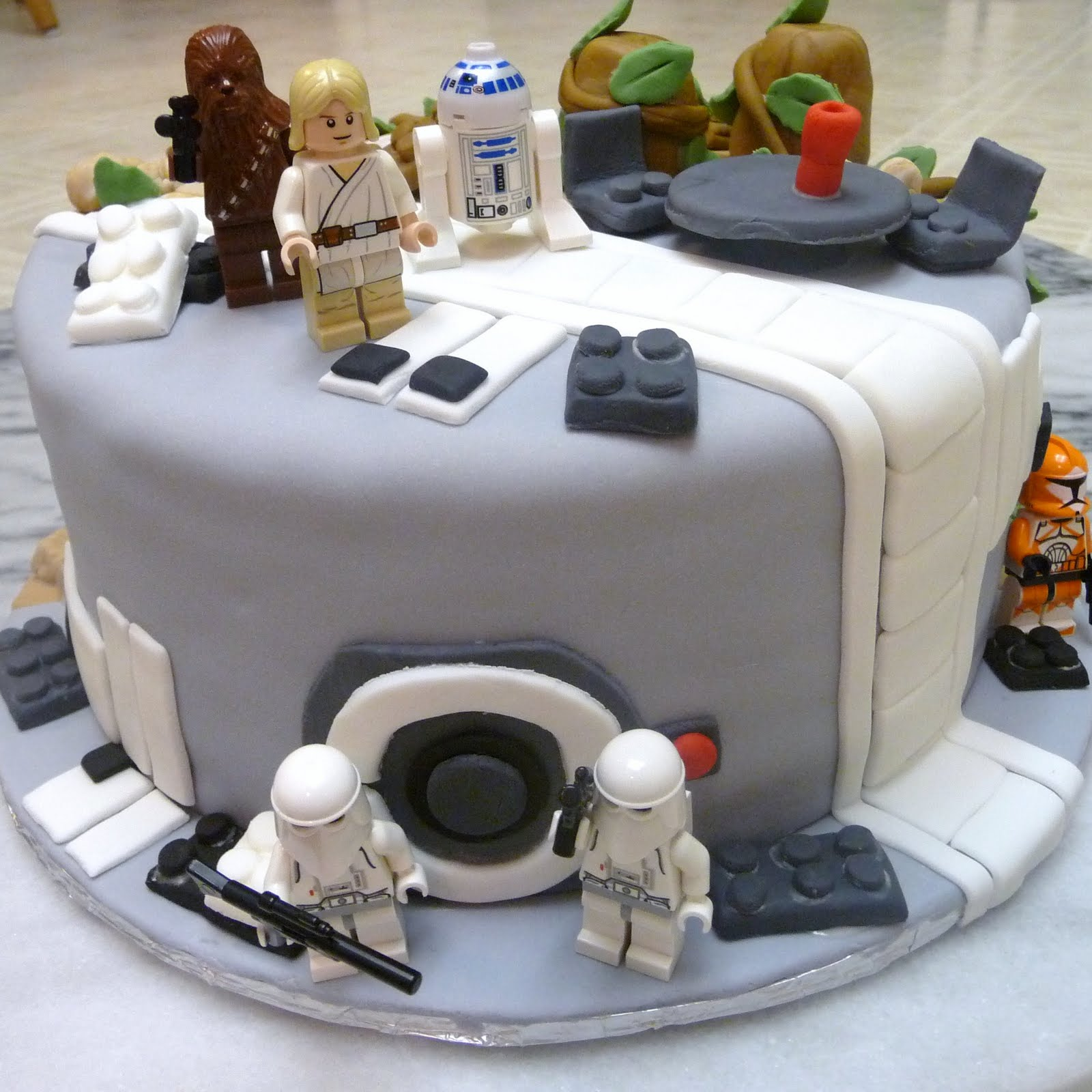star wars lego cakes - Star Wars Decorations