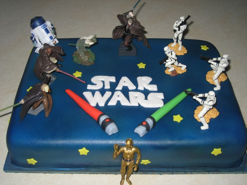 Walmart Star Wars Cake Decorations