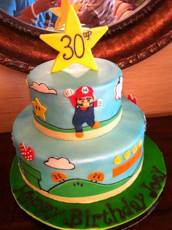 Super Mario Bro Cake