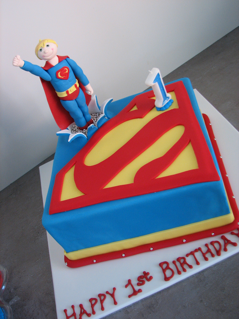 Superman Cakes – Decoration Ideas | Little Birthday Cakes