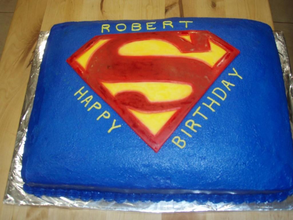 Superman Cake Decorations