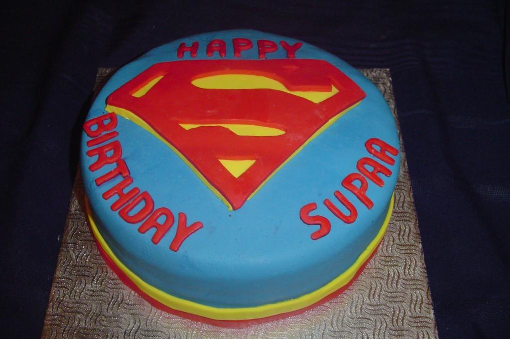 Superman Cake Photos