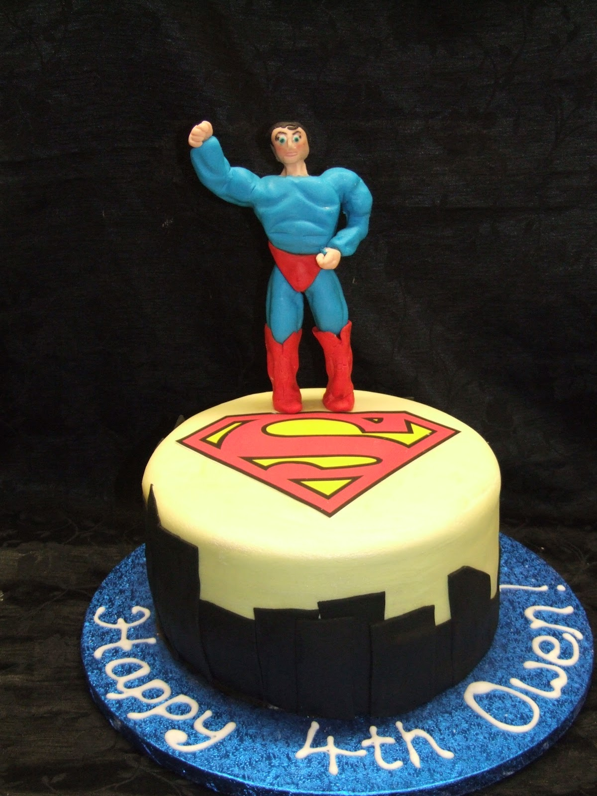 Superman Cakes Decoration Ideas Little Birthday Cakes