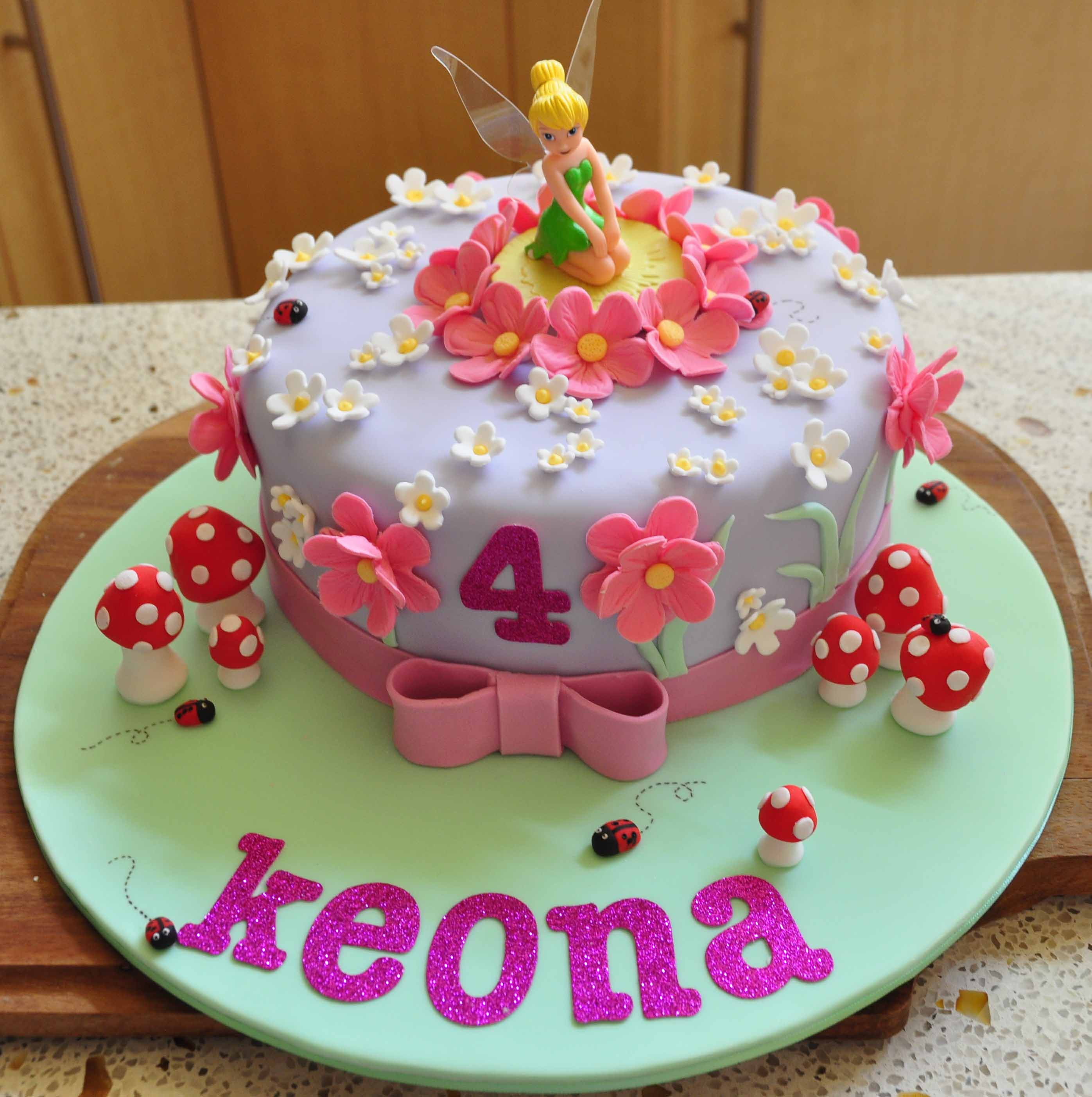 tinkerbell birthday cake designs - Birthday Cake Designs Ideas