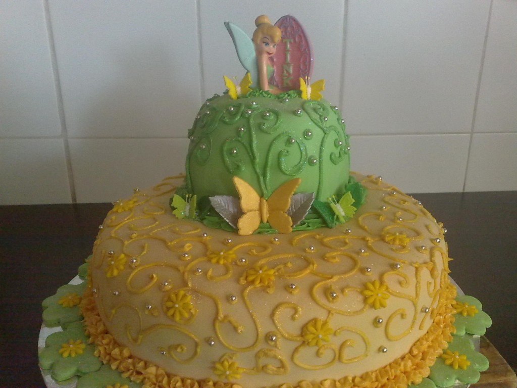 Tinkerbell Birthday Cake Images