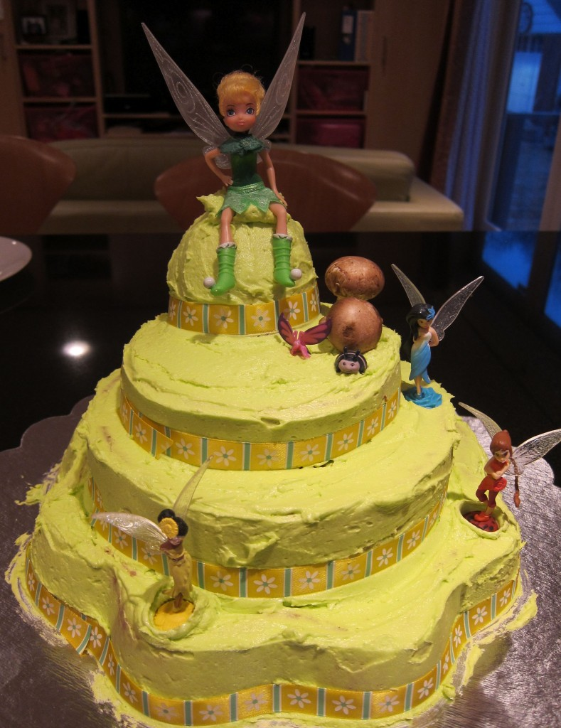 Tinkerbell Birthday Cakes Images