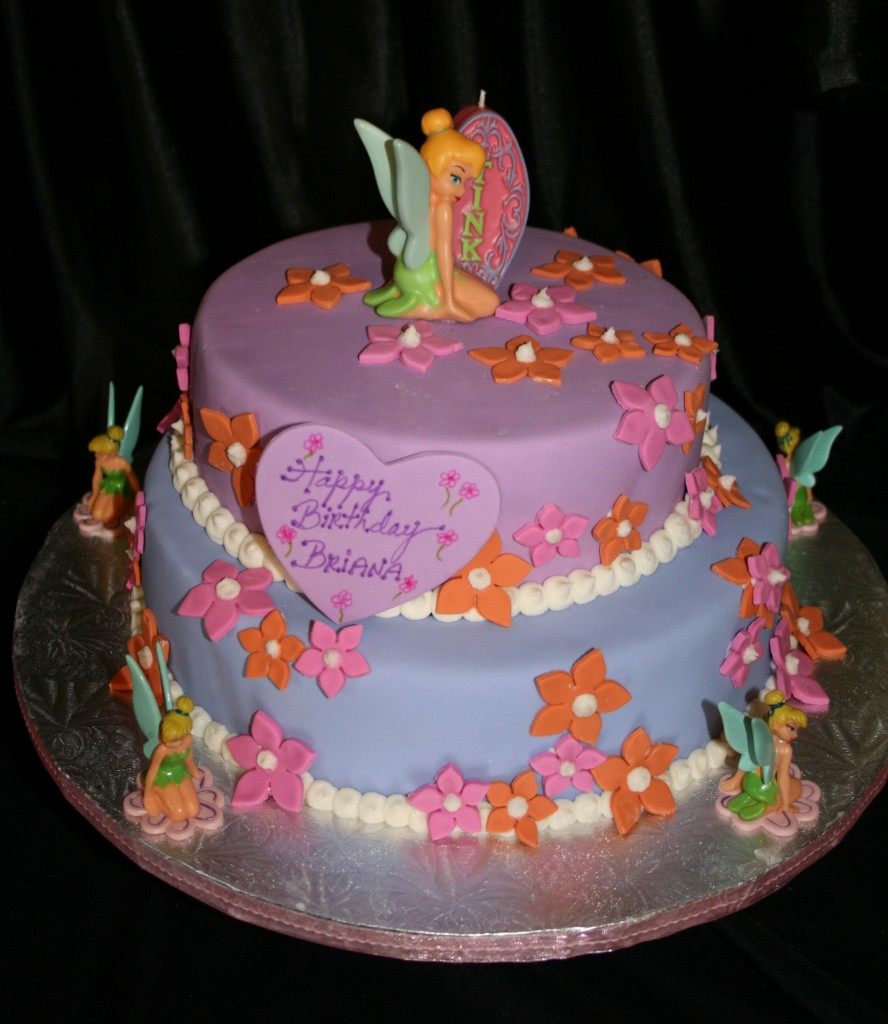 Tinkerbell Birthday Cakes Photos