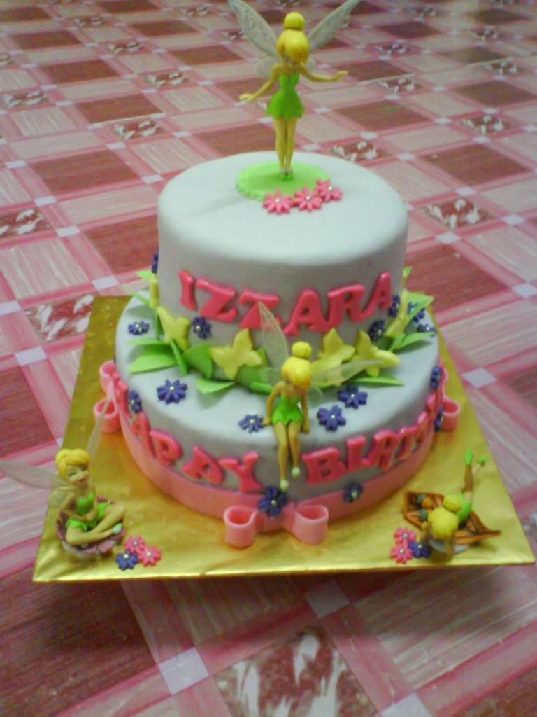 Tinkerbell Cake Designs