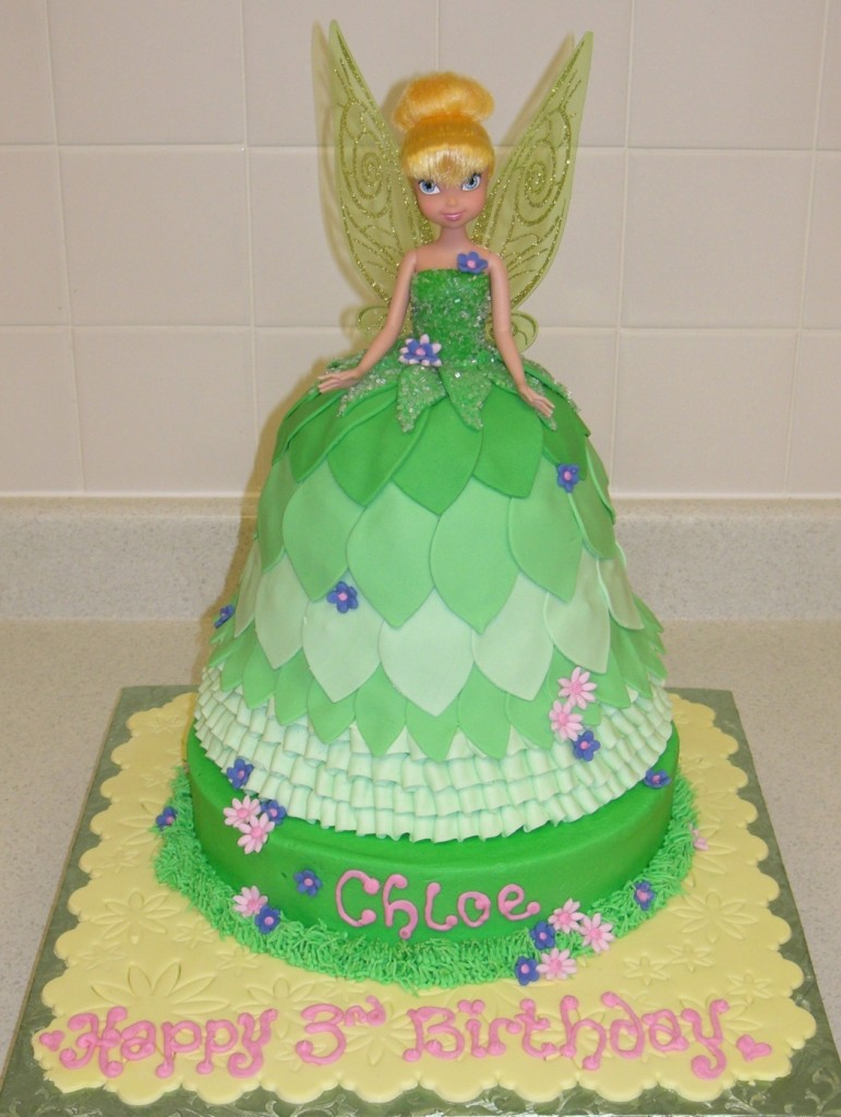 Tinkerbell Cake Photos