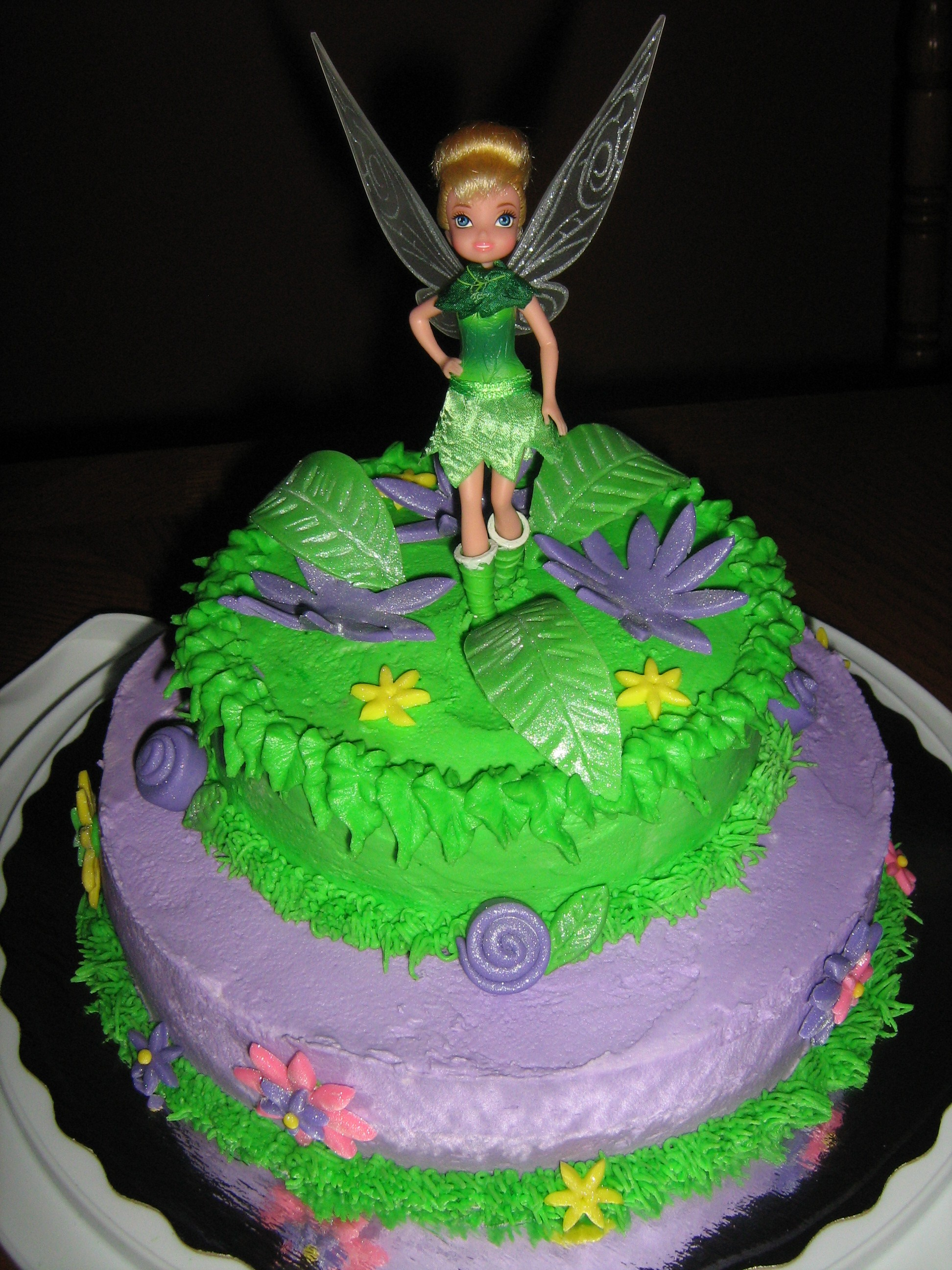 Cake Designs Tinkerbell : Tinkerbell Cakes   Decoration Ideas Little Birthday Cakes