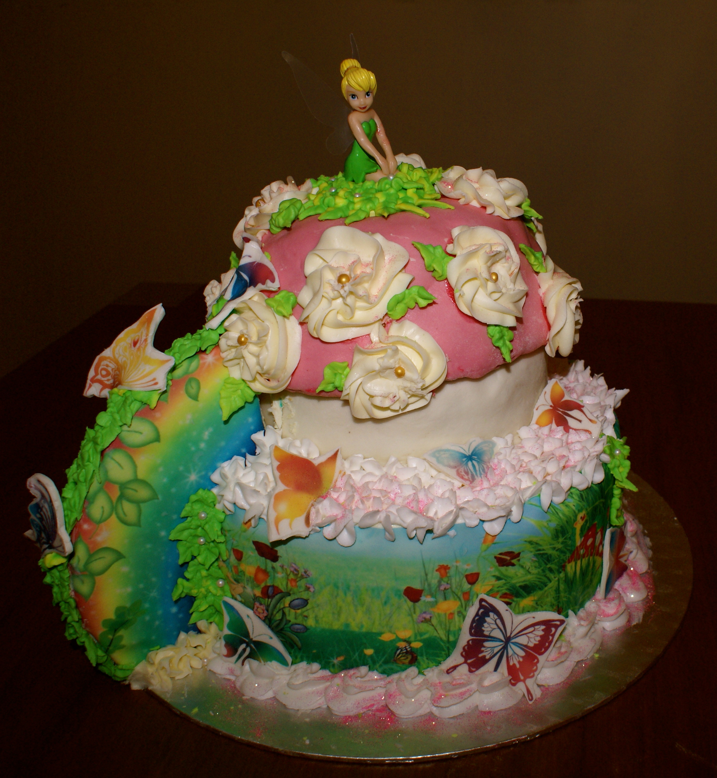 Tinkerbell Cakes For Kids Walmart Cakes For Kids Birthday