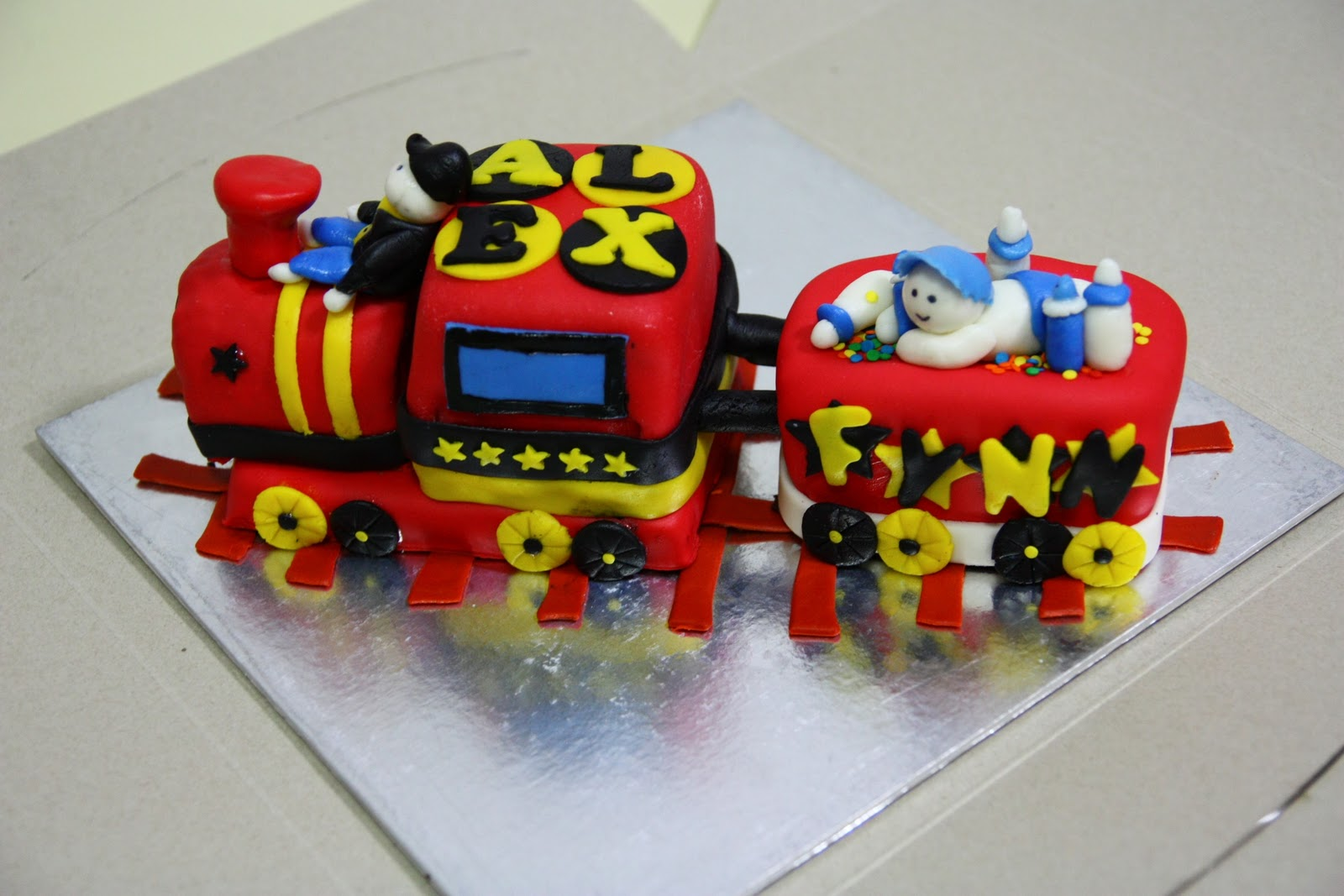 Cake Decorating Ideas Trains : Train Cakes   Decoration Ideas Little Birthday Cakes