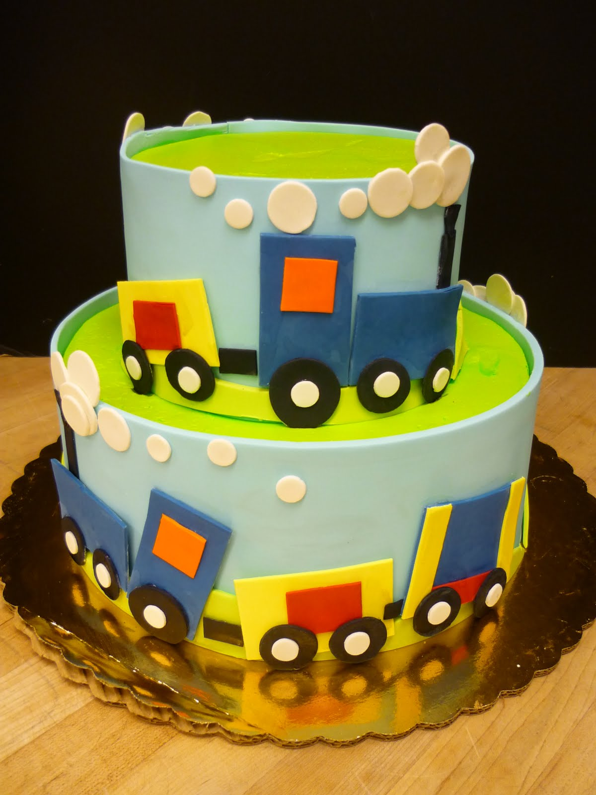 Design For Birthday Cake For Boy : Train Cakes   Decoration Ideas Little Birthday Cakes