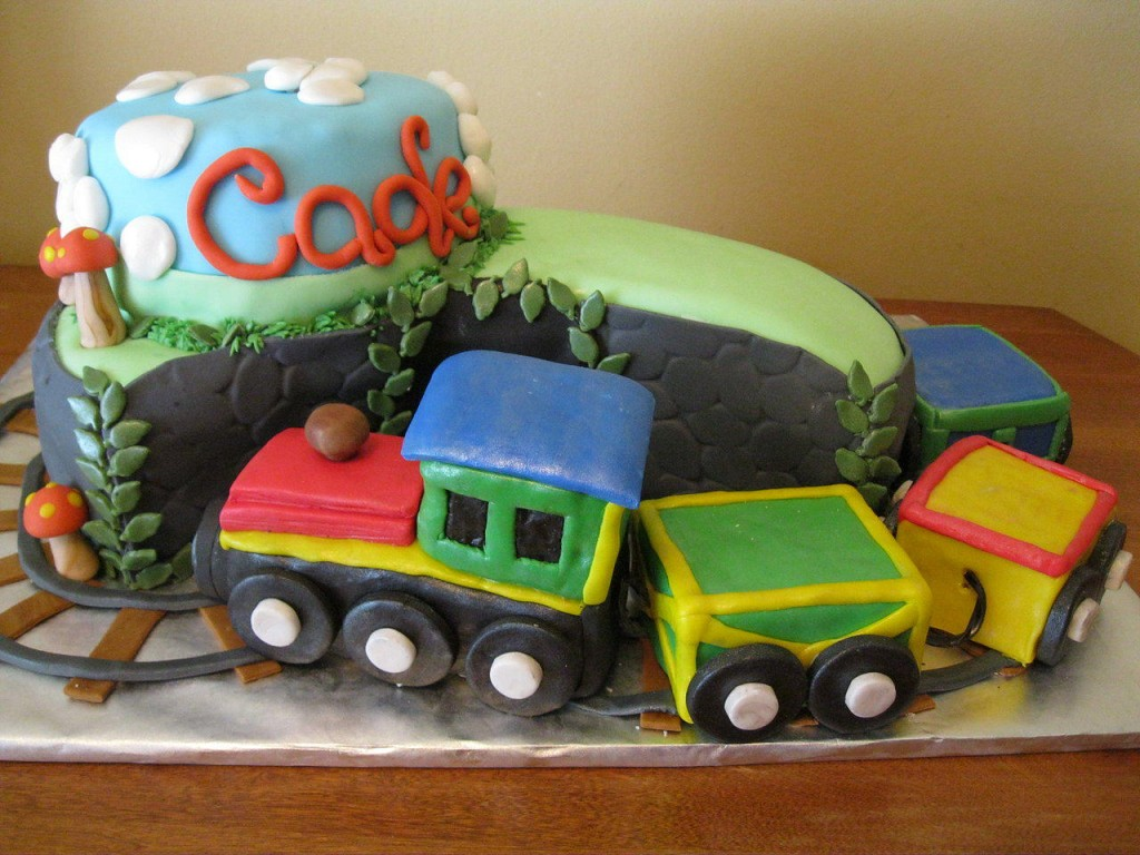 Train Cakes Decoration Ideas Little Birthday Cakes