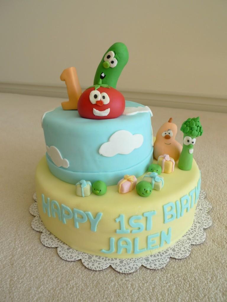 Veggie Tales Cakes Designs