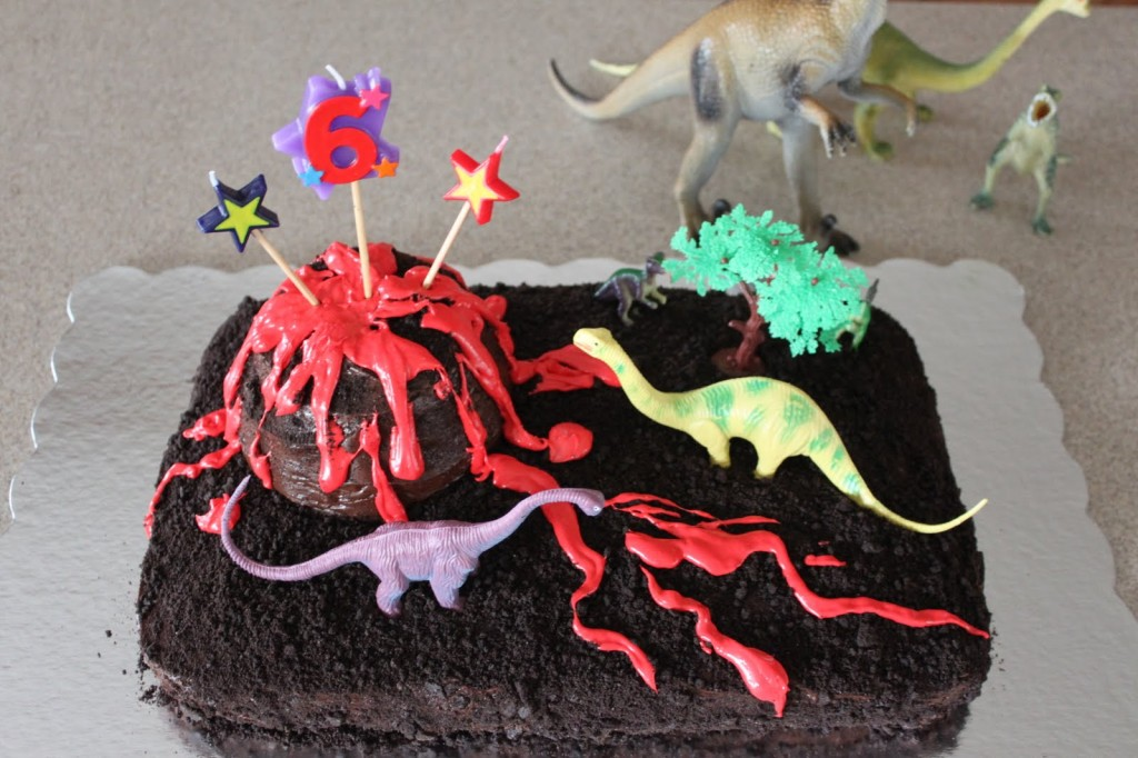 Volcano Cakes For Kids