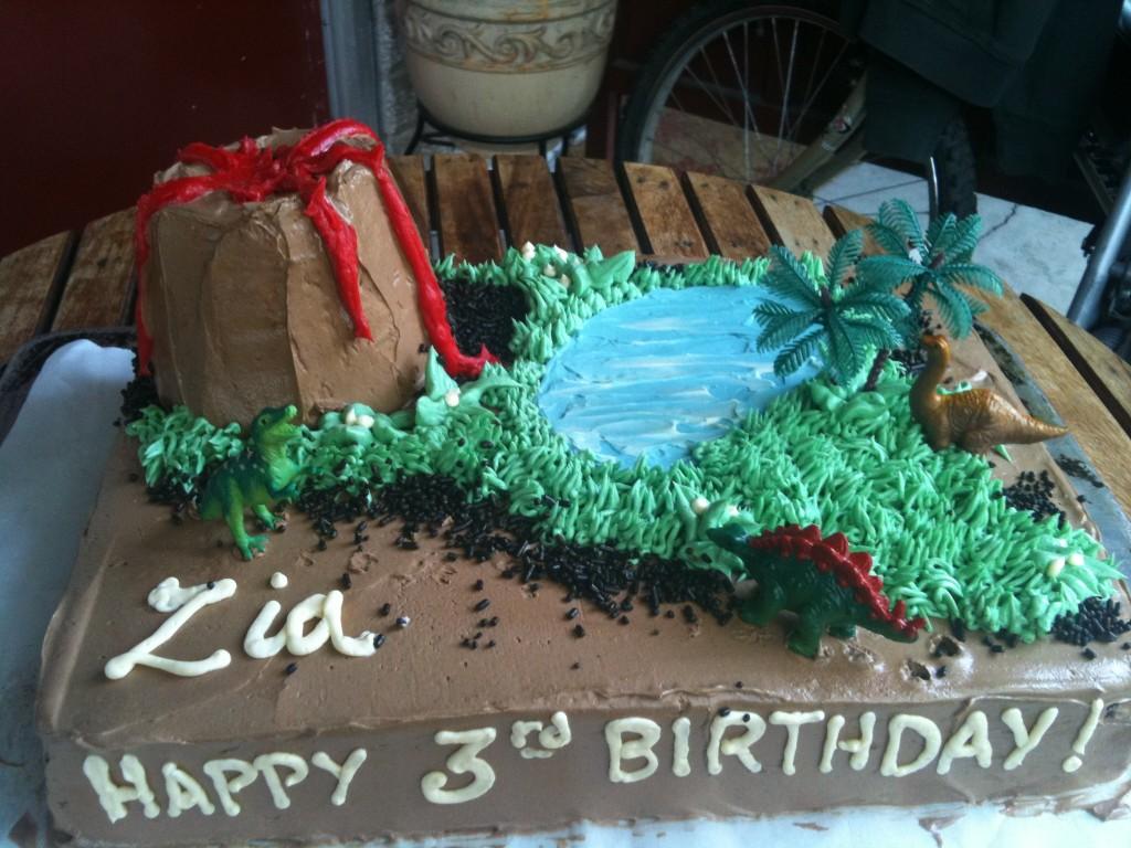 Volcano Cakes Photos