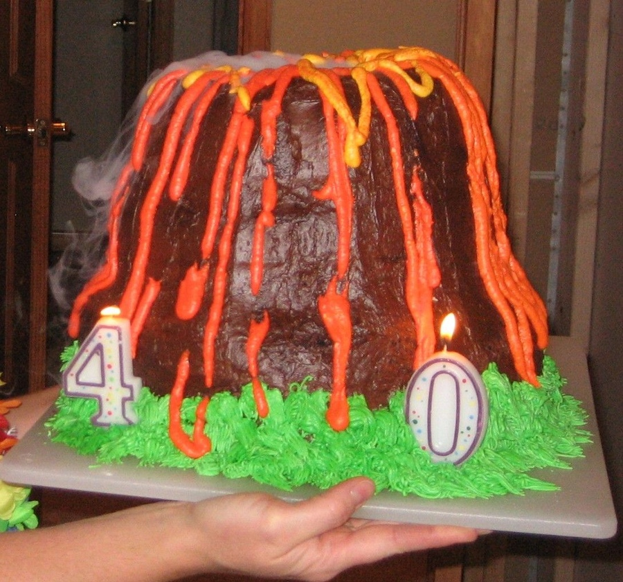 Volcano Cakes Pictures