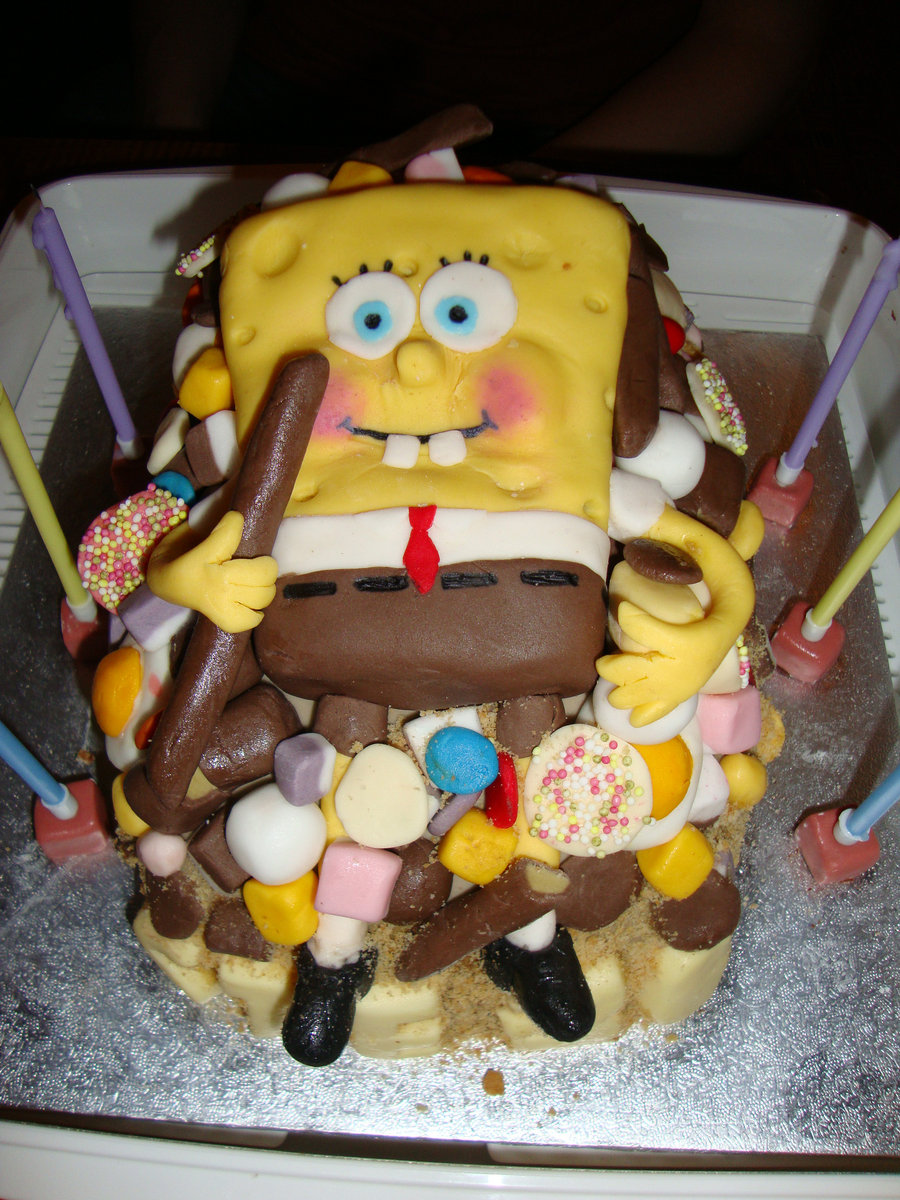 Spongebob Cakes Decoration Ideas Little Birthday Cakes