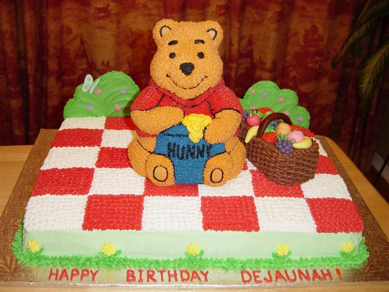 Winnie The Pooh Cakes Decoration Ideas Little Birthday Cakes