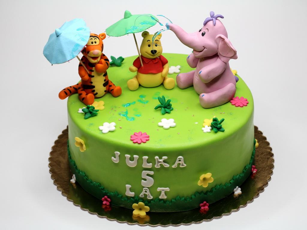 Winnie The Pooh Cakes Decoration Ideas Little Birthday