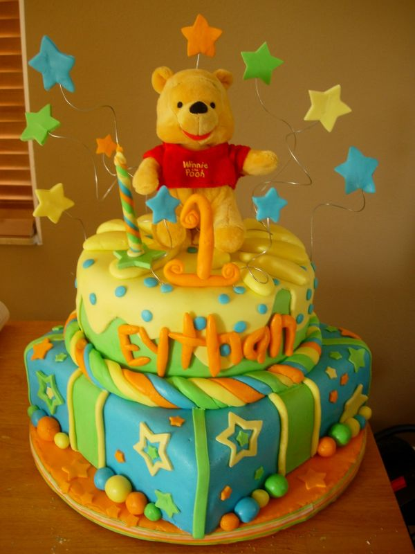 Pooh Bear Cake Design : Winnie The Pooh Cakes   Decoration Ideas Little Birthday ...
