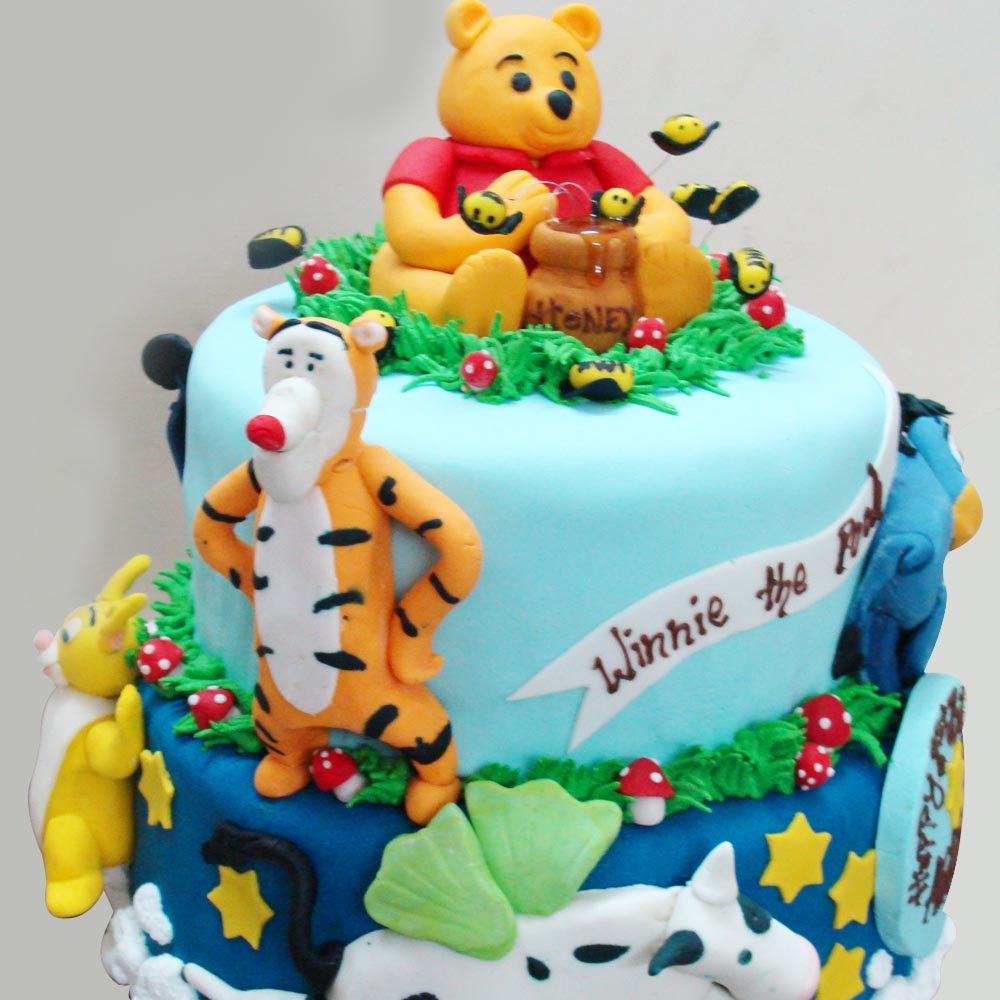 Cake Design Winnie The Pooh : Winnie The Pooh Cakes   Decoration Ideas Little Birthday ...