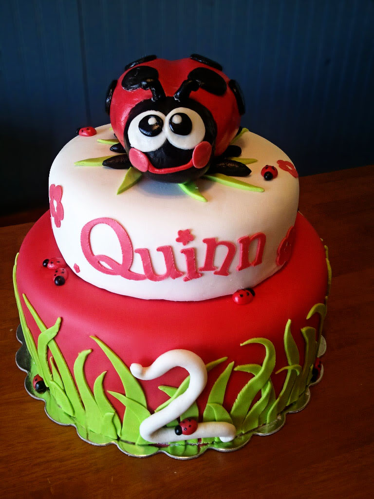 Ladybug Cakes   Decoration Ideas Little Birthday Cakes