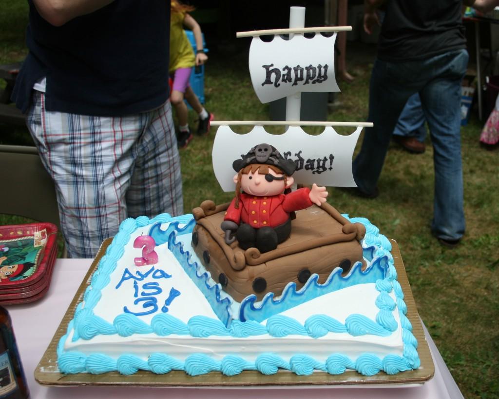 Pirate Ship Cake Ideas