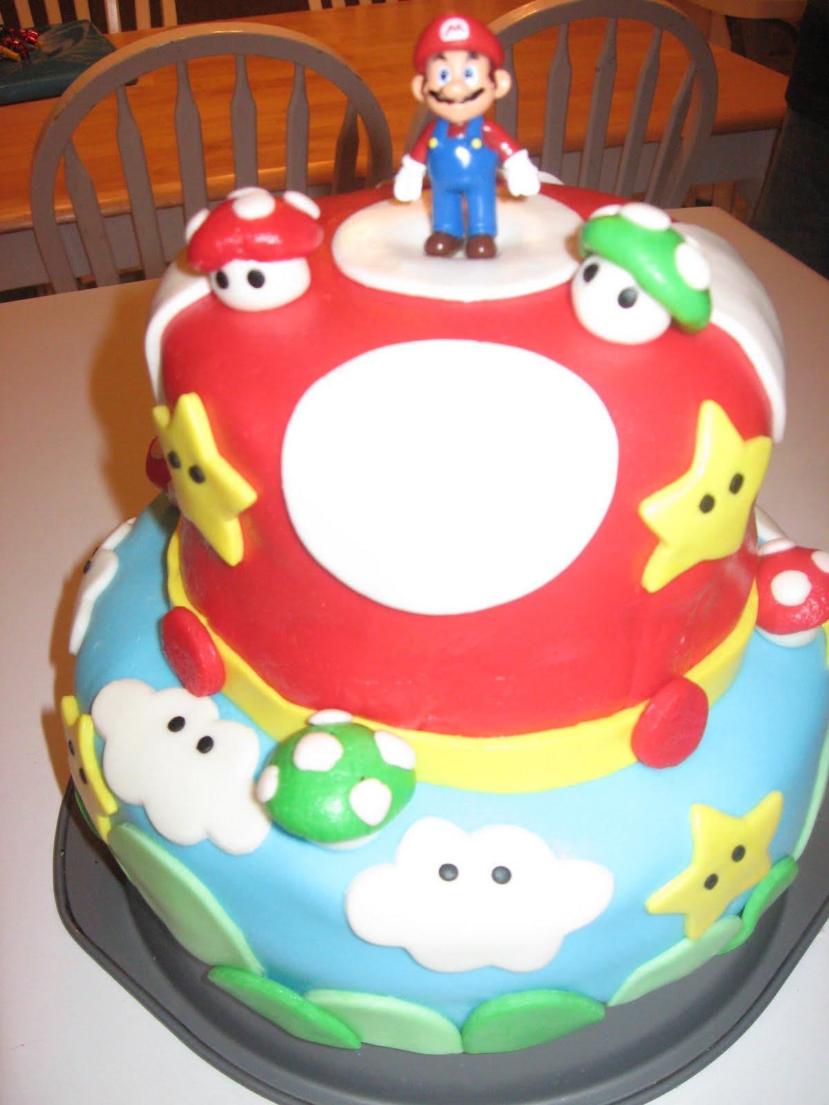 Mario cakes decoration ideas little birthday cakes - Birthday cake decorations ideas ...
