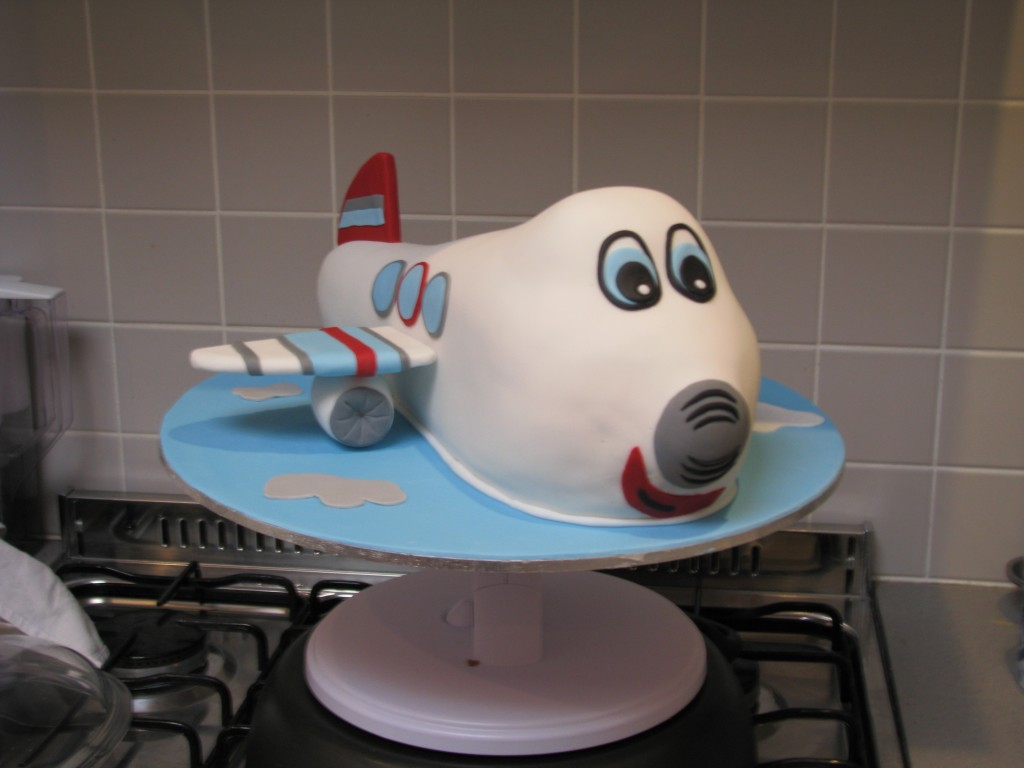 Cake Decoration Plane