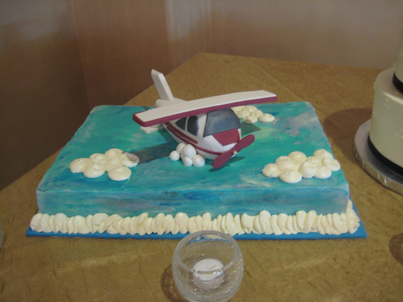 Aeroplane Wedding Cake