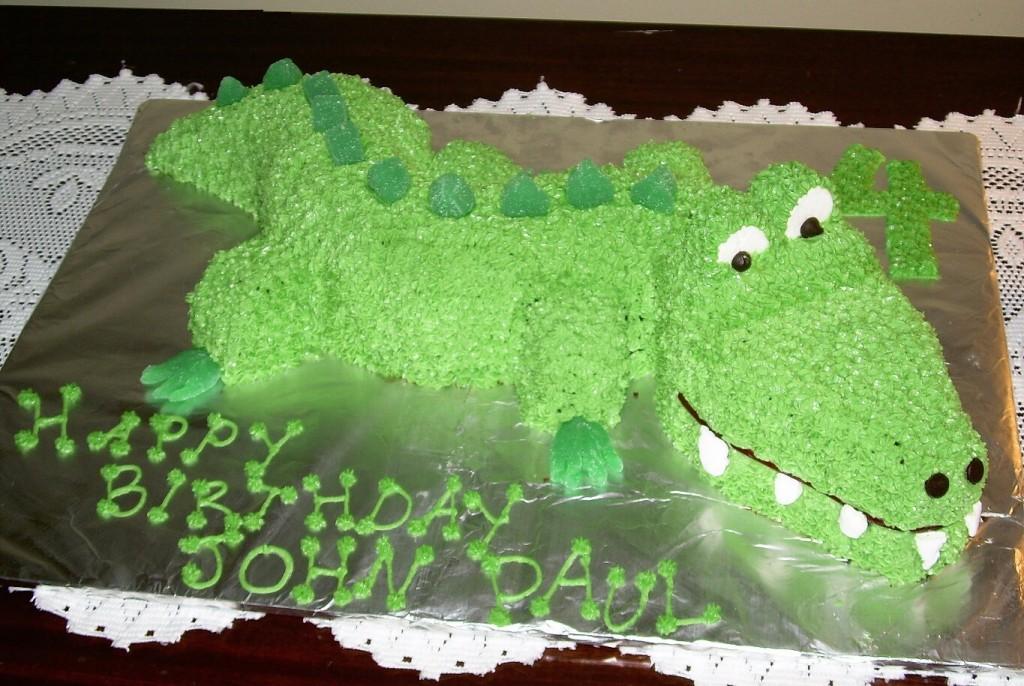 Alligator Cakes Decoration Ideas Little Birthday Cakes