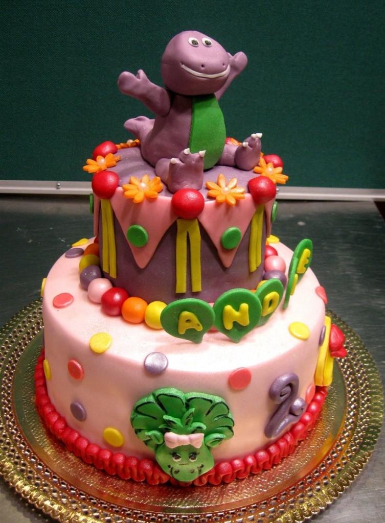 barney cake - photo #6