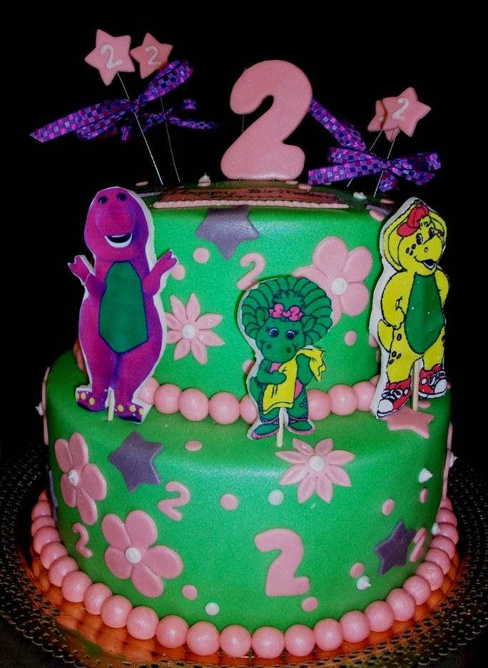 barney cake - photo #9