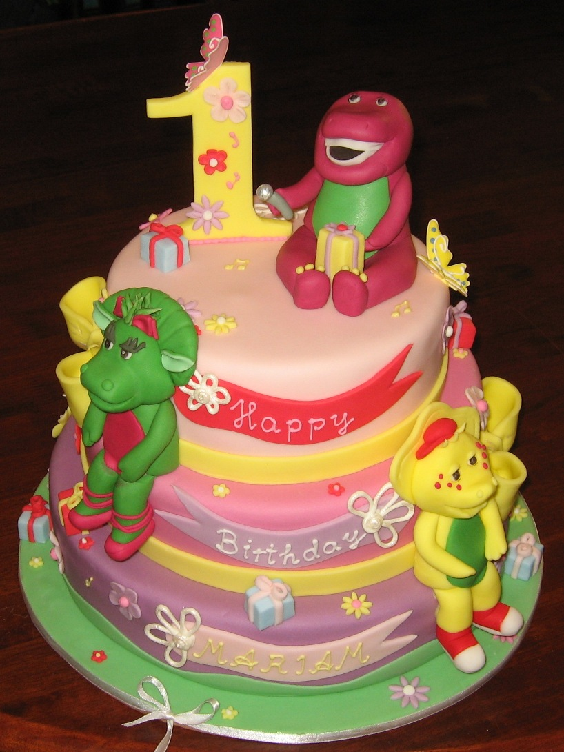 Barney And Friends Cake Images