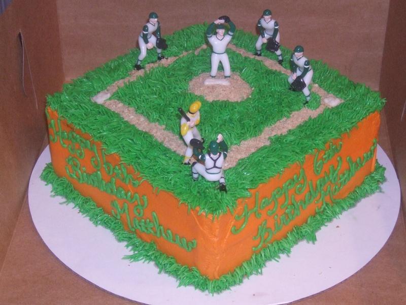Baseball Field Cakes Decoration Ideas Little Birthday Cakes