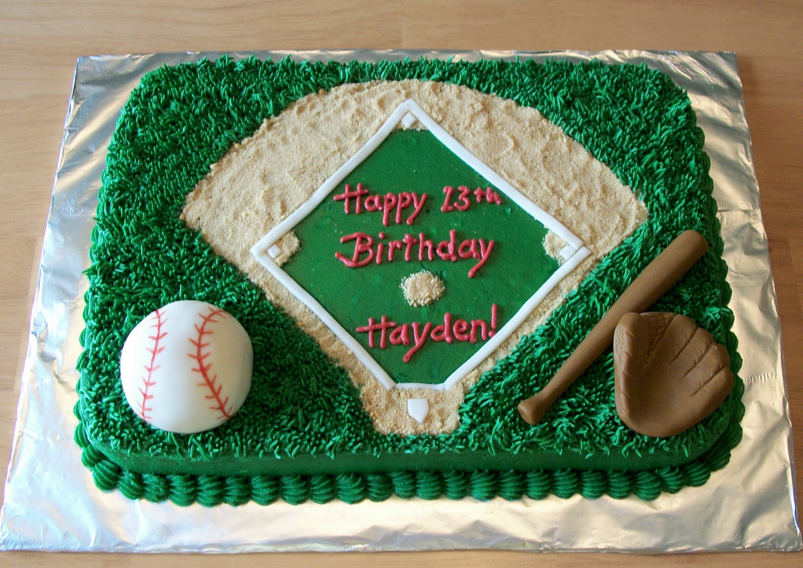 Baseball Field Cakes Decoration Ideas Little Birthday