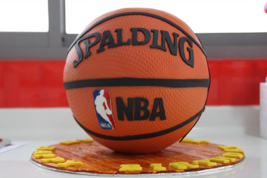 Basketball Birthday Cake With Name