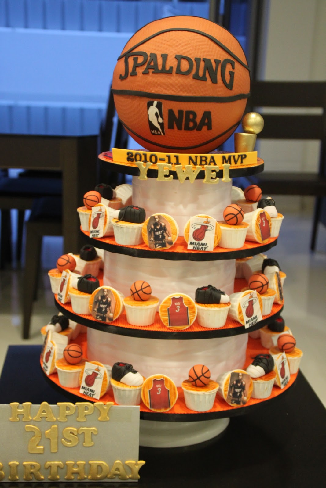 Basketball Jersey Cake Ideas