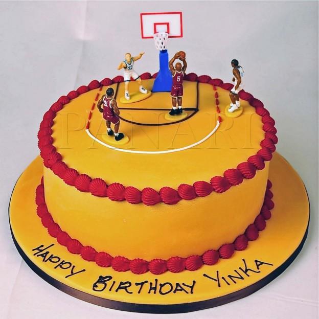 Торт баскетбол фото
