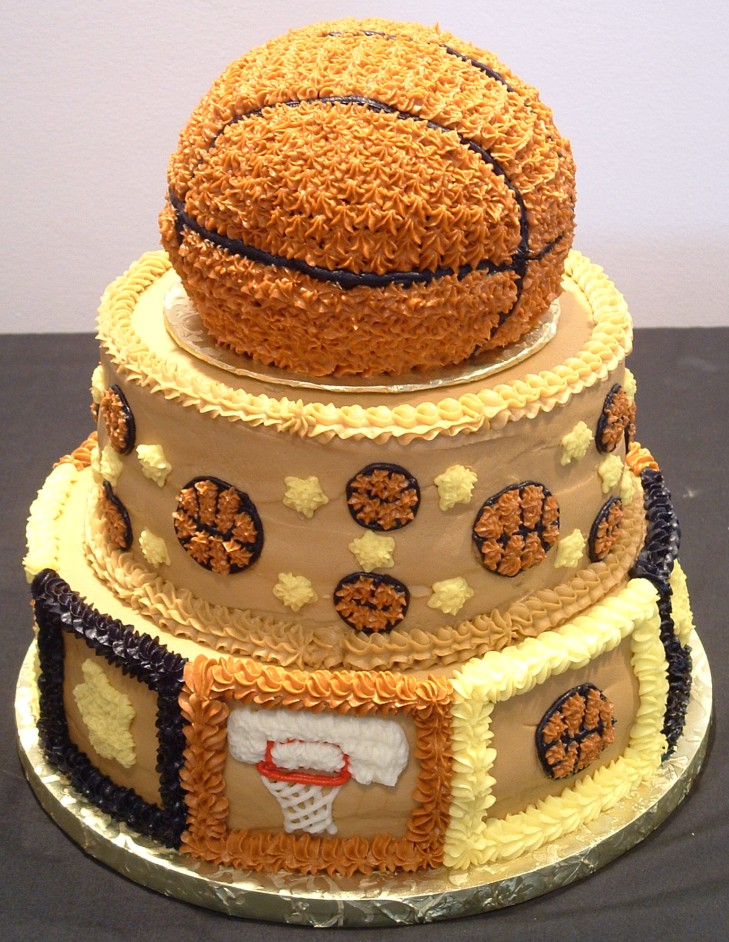 Basketball Cake Decorating Ideas