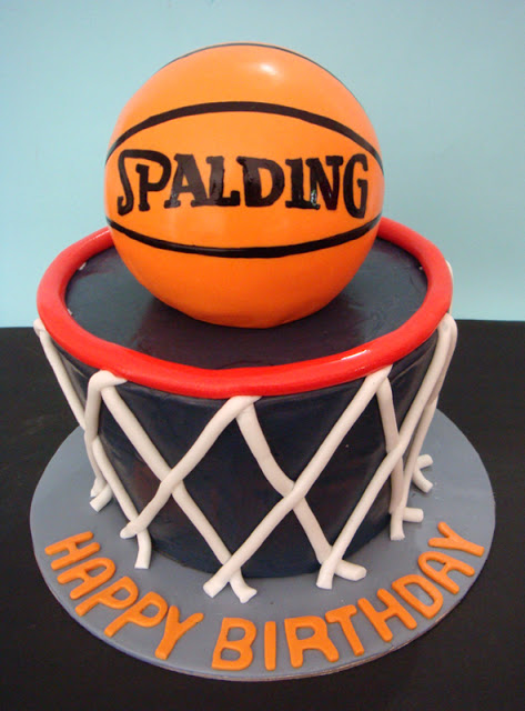 Birthday Cake For Basketball ~ Basketball cakes decoration ideas little birthday