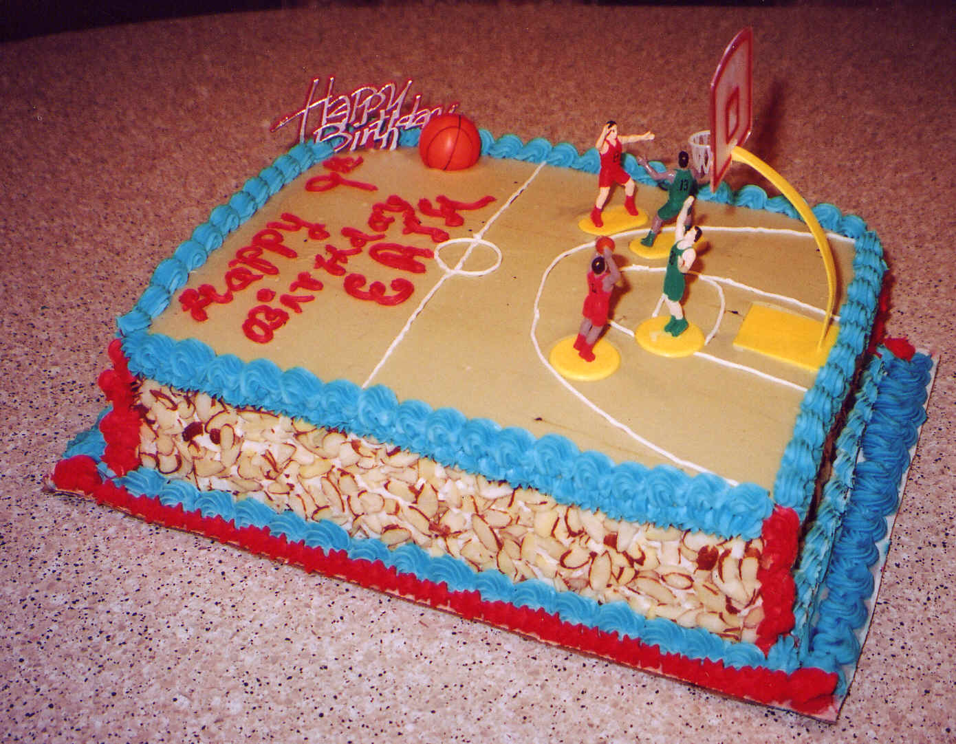 Basketball Court Cake Images : Basketball Cakes   Decoration Ideas Little Birthday Cakes