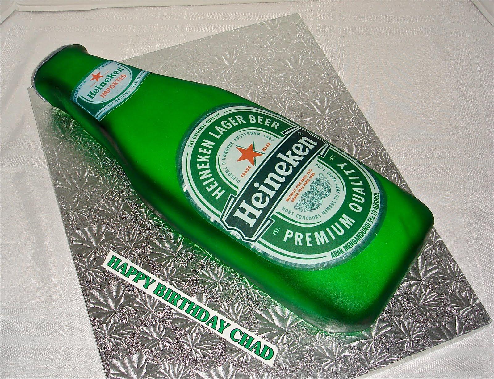 Heineken Cake Topper