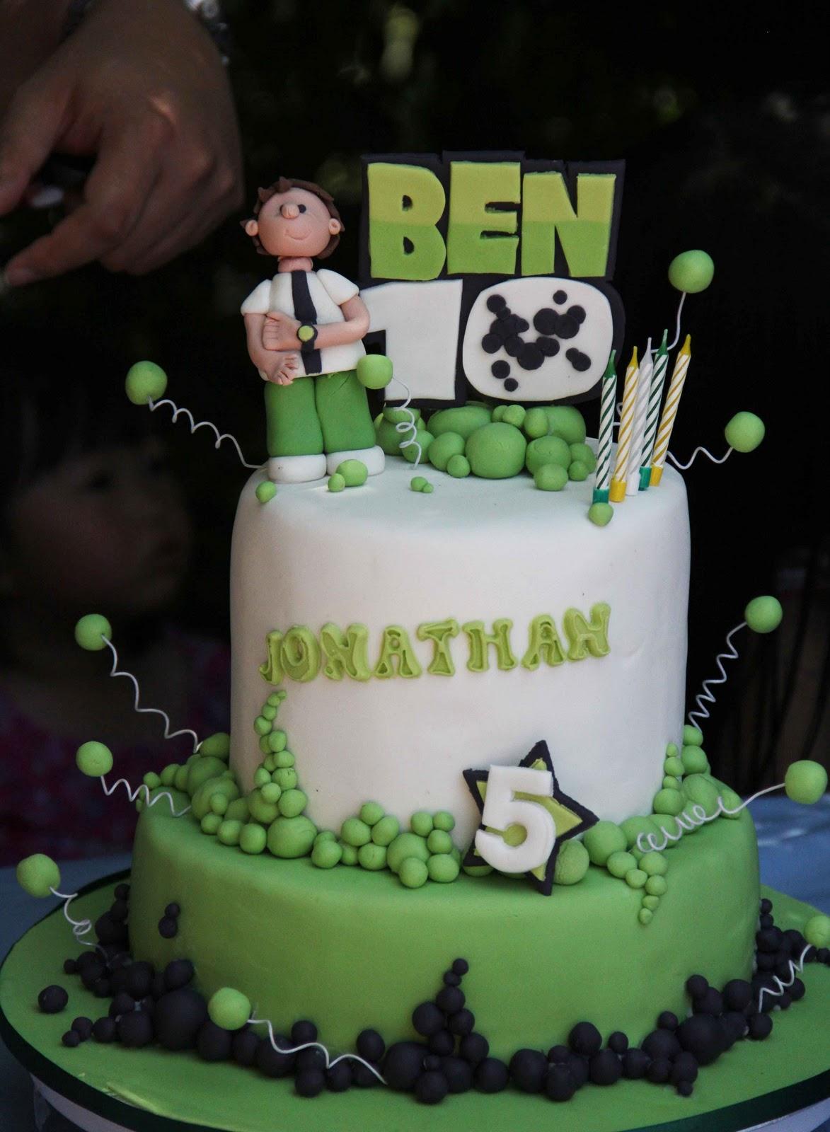 Ben 10 Cakes Decoration Ideas Little Birthday Cakes