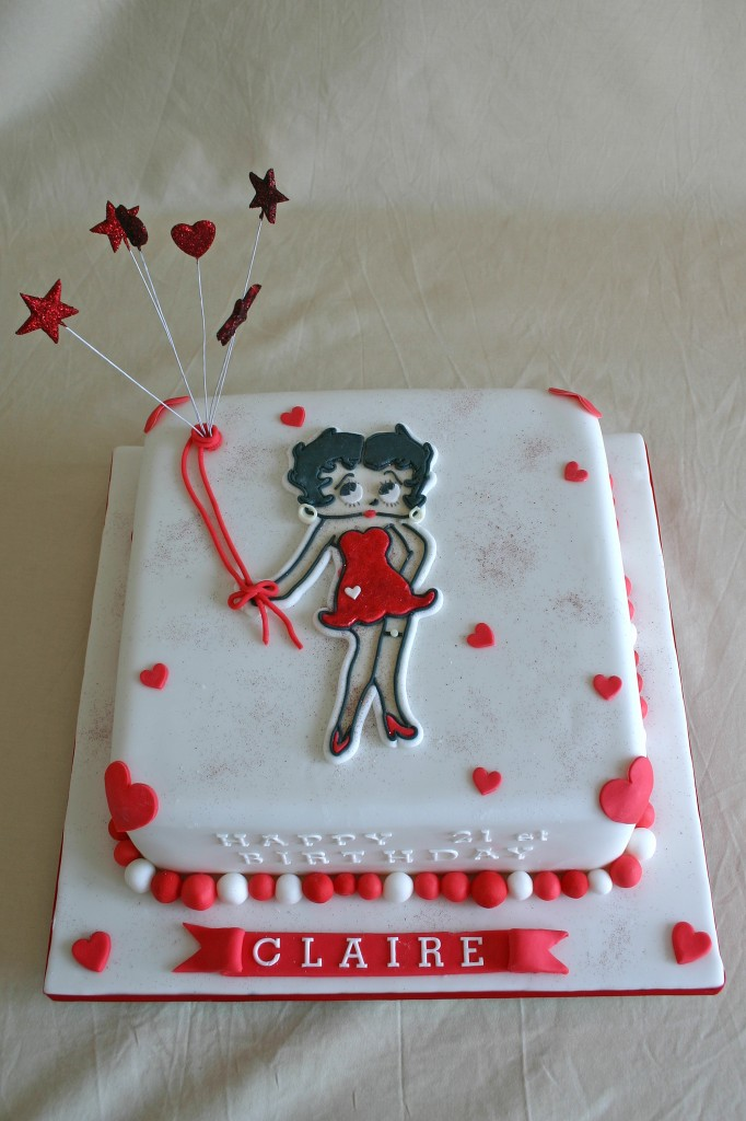 Betty Boop Cakes Decoration Ideas Little Birthday Cakes