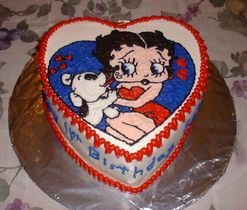 Betty Boop Cake Decorations